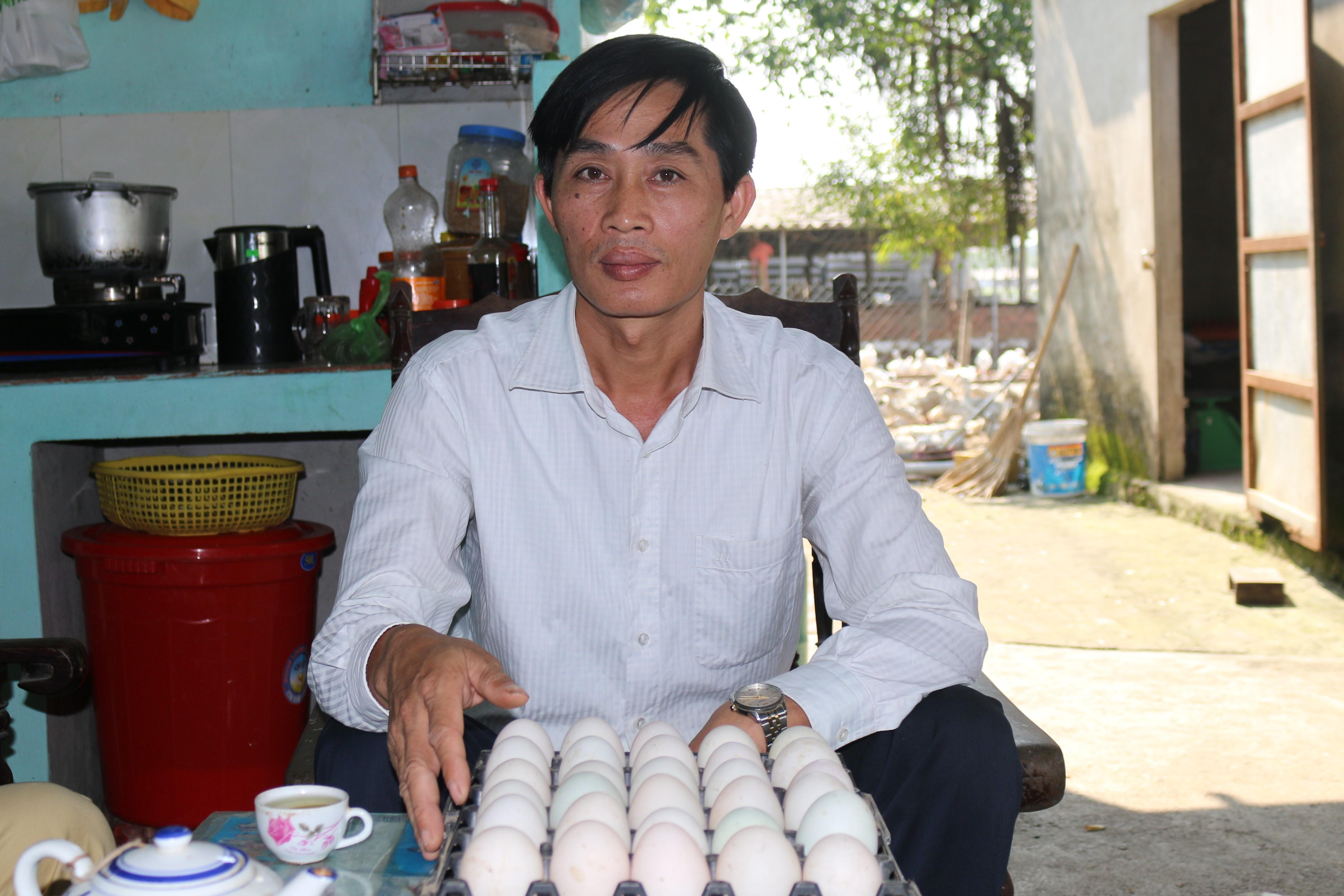 Hội sản xuất và tiêu thụ trứng vịt Liên Châu